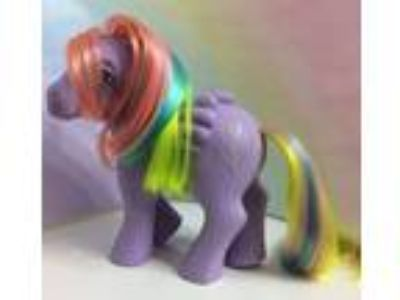 MY LITTLE PONY G1**Tickle** (Vintage) Pony Pegasus~