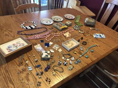 Jewelry and other items