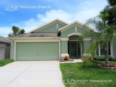 Lovely 4BR/2BA/2CG home located in Riverview!