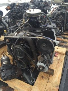 Sell MERCRUISER 5.7 Inboard Outboard boat Motor Engine 350 Alpha Carb For parts motorcycle in Ipswich, Massachusetts, United States, for US $399.00