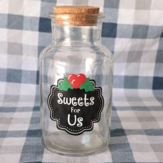 Vintage sweets container