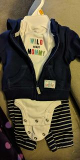 Newborn outfit. Carters.