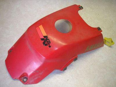 Find gas tank cover 1987 2004 yamaha warrior 3GD-2171A-70-00 Y147 motorcycle in Bay City, Michigan, United States, for US $13.59