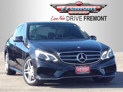 2014 Mercedes-Benz E-Class E550 4MATIC Luxury (Obsidian Black Metallic)