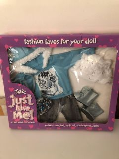 Justice new doll clothing