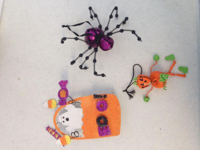 Halloween hang up for refrigerator and cute decor