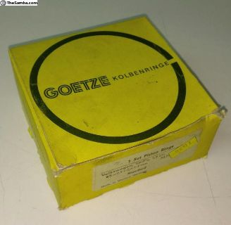 83mm piston ring set 2.5x2.5x4 NOS Goetz