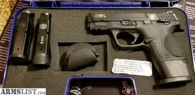For Sale: M&P 9c w/ Apex Trigger