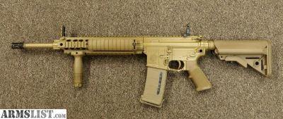 For Sale: Knights Armament SR25 EMC New Dimpled W/Suppressor RARE KAC SR-25 EMC Suppressor New ECC M110 Mk11