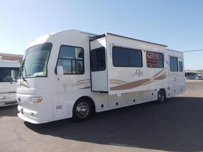 $54,900, 2005 Alfa See Ya Double Slide Diesel Pusher Extra High Ceiling