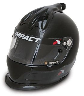 Find IMPACT RACING 17099610 SUPER CHARGER HELMET X-LARGE BLACK SA2010 motorcycle in Moline, Illinois, US, for US $539.99