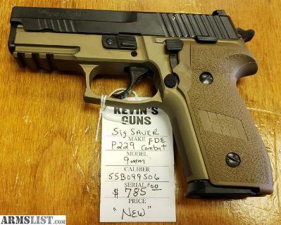 For Sale: Sig Sauer P229 FDE Combat