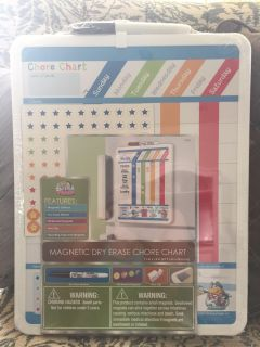 NEW Magnetic Dry Erase Chore Chart