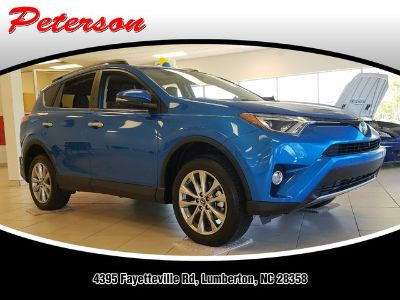 2018 Toyota RAV4 LIMITED FWD (Electric Storm Blue)