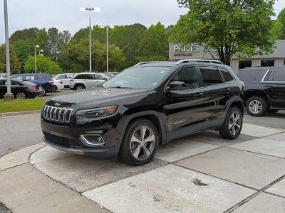 2019 Jeep Cherokee Limited (Diamond Black Crystal P/C)