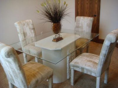 $75, Dining Table with 4 chairs