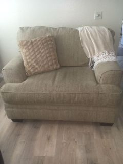 Couch, Love Seat, Ottoman