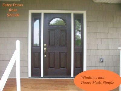 Windows and Patio Door installations