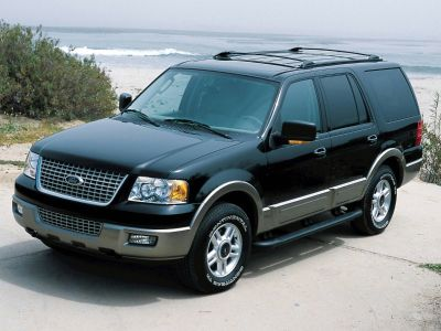 2004 Ford Expedition Eddie Bauer (Black Clearcoat)