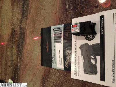 For Sale: Sig-Sauer Laser