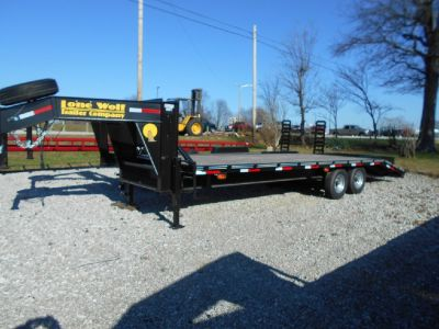 25ft Heavy Equipment Trailer Come check out this sharp lonewolf trailer!
