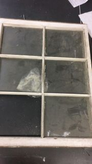 6 Old Window panes. Pick up only.