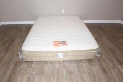 Full Size Mattress- Lonestar Bedding- Chiropractor sleep solutions