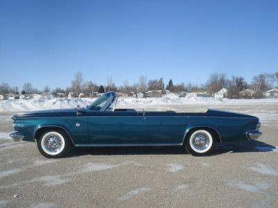 1963 Chrysler 300 PACESETTER EDITION CONVERTIBLE (TEAL POLY)