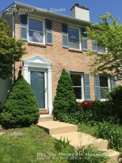 Newly Renovated 3-Bedroom Townhouse For Rent - 405 Holly Tree Court - Available June 1