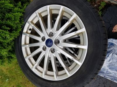 Ford C-Max Tires and Rims