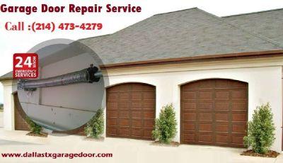 1 Hour   Emergency Garage Door repair $25.95 Dallas   TX