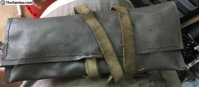 Tool roll/pouch kit