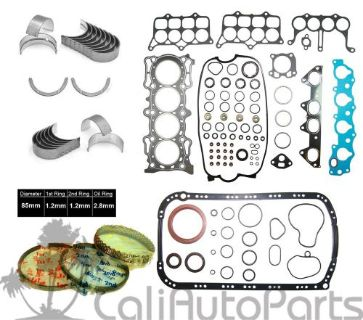 Find 94-97 Accord DX LX Isuzu Oasis 2.2L 16V SOHC F22B2 F22B6 *GRAPHITE RE-RING KIT motorcycle in Orange, California, United States, for US $99.75