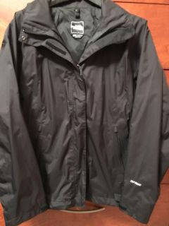 North Face Black Hyvent Shell Woman s jacket-LIKE NEW