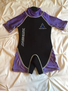 Youth size S wet suit