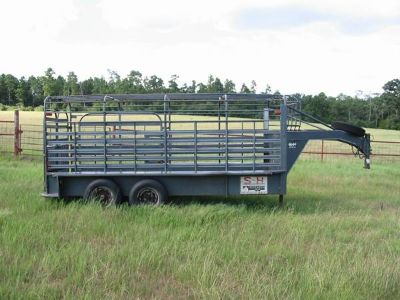 Cattle  Horse Trailer (Gooseneck)