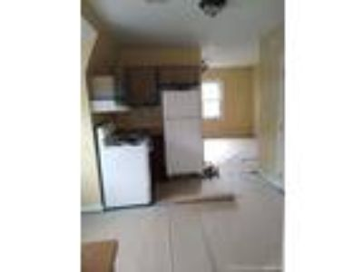 nice sized, freshly painted 3rd flr apartment, refrigerator, use of yard