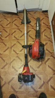 Homelite weed eater and blower set