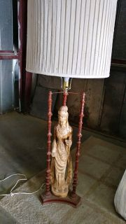Asian lady lamp