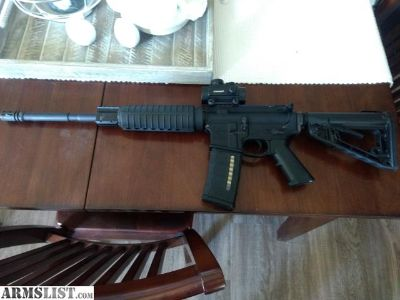 For Sale: Ar15 with red dot