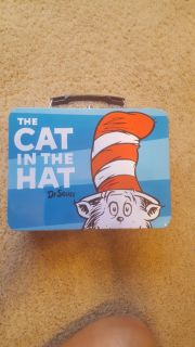 Cat in the Hat tin lunchbox