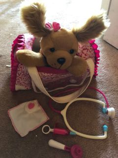 Barbie Pet Vet Dog