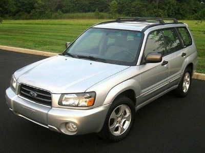 Subaru Forester 2.5XS AWD 4D Sport Utility Wagon -- Leather---Panorama