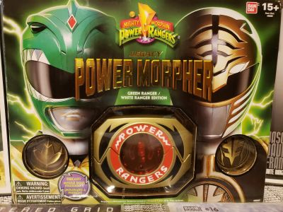 Power rangers legacy collection morpher green/white