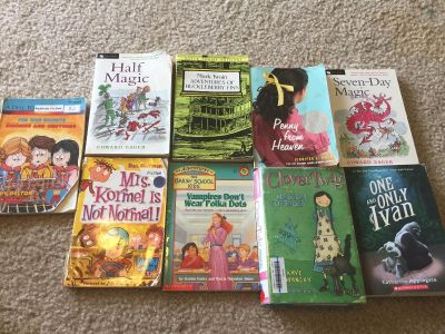 Teen books all for $10