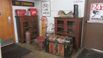 Nellie Bailey estate auction along with our Regular Wed Auction