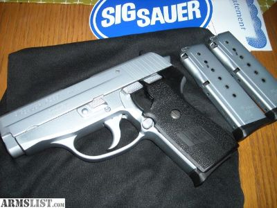 For Sale: Sig P239 40cal. Stainlesss