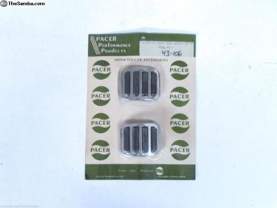 Pacer Brake & Clutch Pedal Pad Covers T1 T3