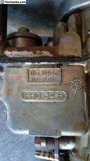Complete Dual Dellorto Frd34's