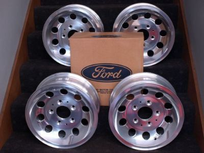 Purchase FORD TRUCK NOS ALUMINUM WHEELS F100 F150 BRONCO 4X4 1964-1986 1978 1979 PACE TRK motorcycle in Tipp City, Ohio, United States, for US $950.00
